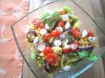 Salat mit Minimozzarellas